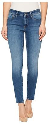 Mavi Jeans Adriana Midrise Ankle Super Skinny 27 in Medium Blue (Medium Blue) Women's Jeans