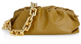 Bottega Veneta Medium The Chain Pouch Leather Clutch