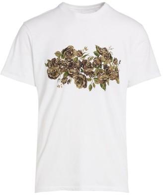 Rag & Bone Camo Floral Print T-Shirt