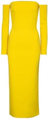 Alex Perry Tate stretch-crepe midi dress
