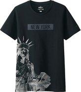Uniqlo Men Sprz Ny A.warhol Short Sleeve Graphic T-Shirt