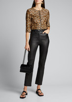 Susan Bender Bengal Leopard Calf Hair Bolero Jacket