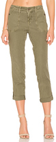Level 99 Dayla Cargo Pant in Olive. - size 27 (also in 28)