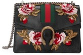 Gucci Medium Dionysus Embroidered Roses Leather Shoulder Bag - None