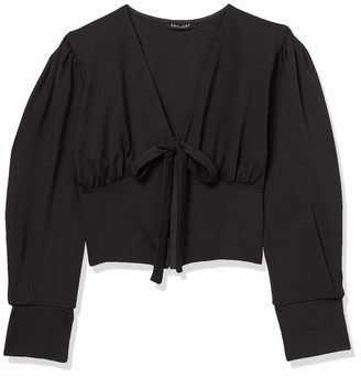 Forever 21 Women's Plus Size Self-Tie Hook-and-Eye Top