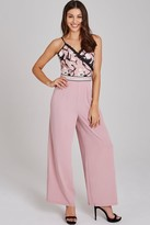 Little Mistress Cordelia Rose Floral Jumpsuit