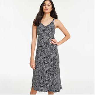 Joe Fresh Women's Back Tie Dress, Black (Size XL)