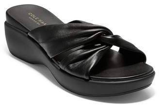 Cole Haan Aubree Grand Knotted Slide Sandal