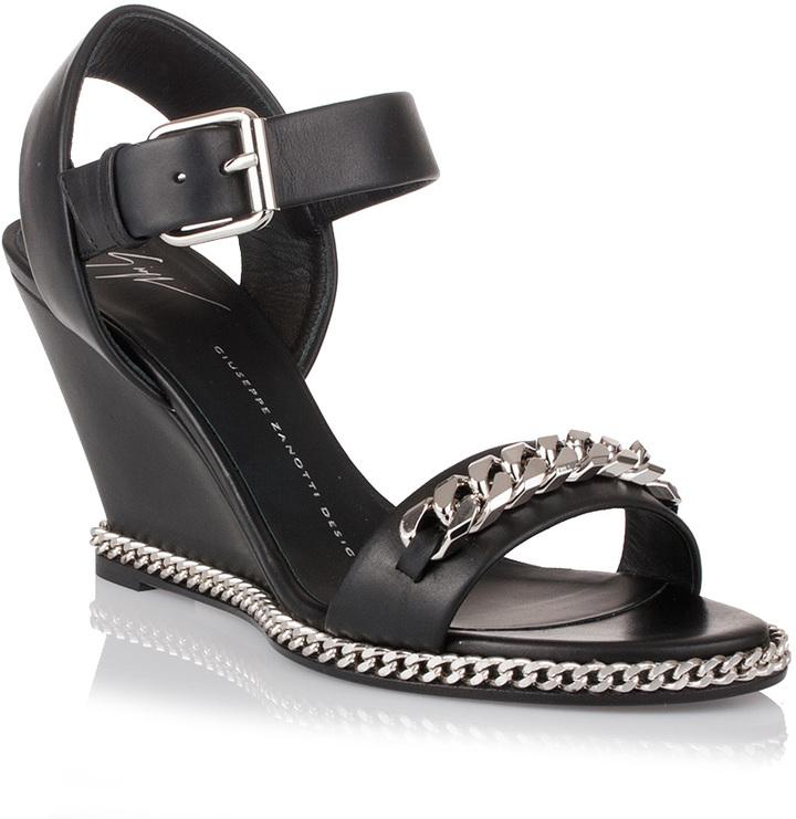 Giuseppe Zanotti Chain wedge sandal