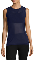 Electric Yoga Overlaying Mesh Top