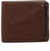 AllSaints Havoc Perforated Horse Leather Wallet