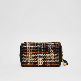 Burberry Small Tweed and Lambskin Lola Bag