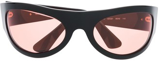Moschino Pre Owned 1990s Chunky Tinted Sunglasses