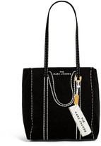 Marc Jacobs The Large Canvas Trompe L'Oeil Tag Tote Bag