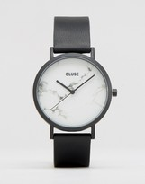 Cluse La Roche Black Marble Watch CL40002