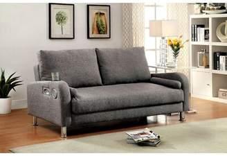 Latitude Run Molly Futon Cushion Back Convertible Sofa Latitude Run