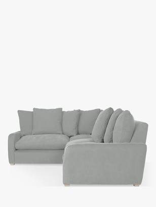 loaf Floppy Jo RHF Corner End Sofa by at John Lewis, Clever Softie Pewter