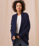 LOFT Lou & Grey Wavestitch Cocoon Cardigan