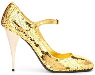 Miu Miu sequin Mary Jane pumps