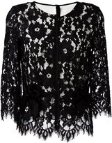 Marc Jacobs floral lace blouse
