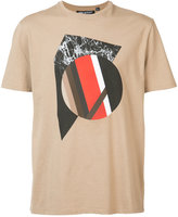 Neil Barrett front print T-shirt - men - Cotton - S
