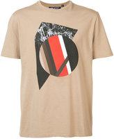Neil Barrett front print T-shirt
