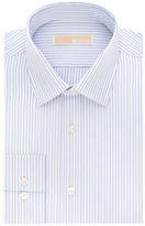MICHAEL Michael Kors Regular-Fit Cotton Striped Dress Shirt