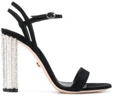 Le Silla metallic heel sandals