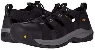 Keen Atlanta II Cooler (Black/Black) Men's Work Boots