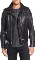 Schott NYC 'Perfecto' Slim Fit Waxy Leather Moto Jacket