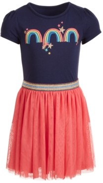 Epic Threads Toddler Girls Rainbow-Print Tutu Dress, Created for Macy's