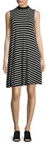 Lord & Taylor Clover Striped Swing Dress