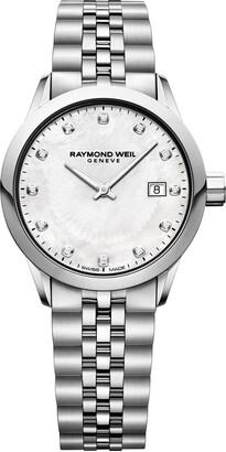 Raymond Weil Women's 5629-ST-97081 Freelancer Ladies Analog Display Quartz Silver Watch