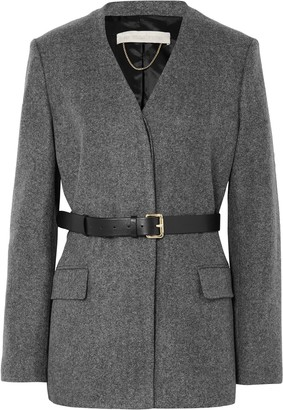 Vanessa Bruno Jacinta Belted Wool Blazer