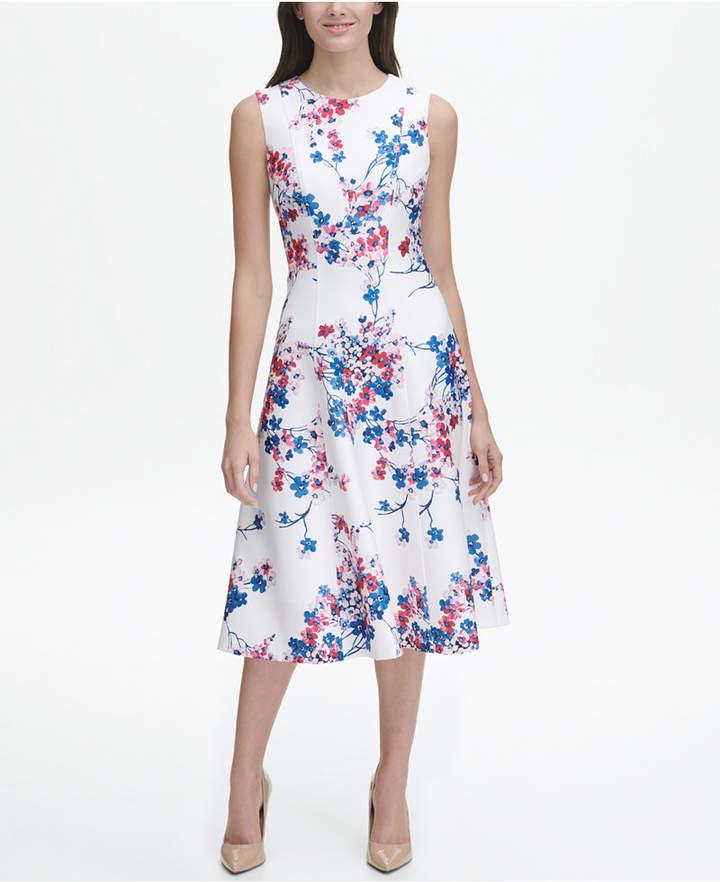 cfeb694148ff Tommy Hilfiger Flared Dresses - ShopStyle