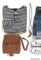 Forever 21 Fringe Mini Backpack