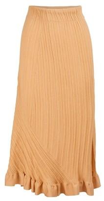 Chloé Maxi slit skirt