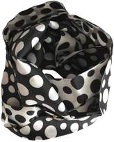 Louis Vuitton Black Silk Scarves