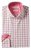Isaac Mizrahi Slim-fit Dress Shirt.