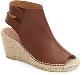 Bettye Muller Women's 'Download' Suede Wedge Espadrille Sandal