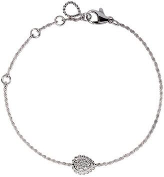 Boucheron 18kt white gold Serpent Boheme diamond XS motif bracelet