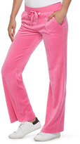 Juicy Couture Women's Bootcut Velour Pants