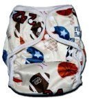 Minky BubuBibi One Size Fit All- Diaper Covers for Prefolds or Regular Inserts PUL S...
