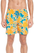 Vilebrequin Men's Octopus Print Swim Trunks