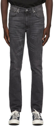 Nudie Jeans Grey Lean Dean Jeans