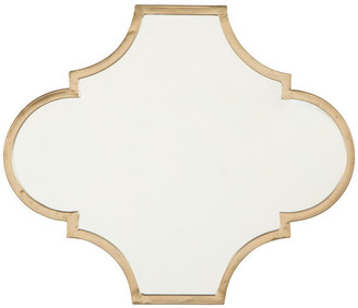 Ashley Furniture Industries Callie Gold Finish Accent Mirror