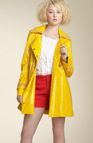 MARC BY MARC JACOBS 'Flash' Double Breasted Patent Trench Coat