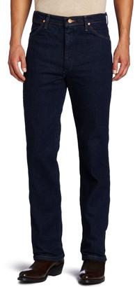 Wrangler Mens Western Slim Fit Boot Cut Jean