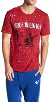 True Religion Splatter Crew Neck Tee