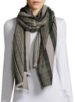 BCBGMAXAZRIA Tribal Stripe Wrap
